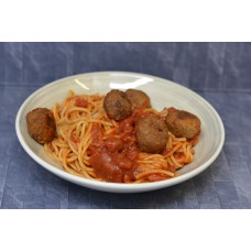 Spaghetti met veggy balletjes