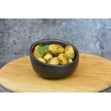 Gebraden aardappeltjes Kruidenboter