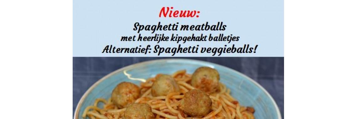 Nieuw : Spaghetti meatballs